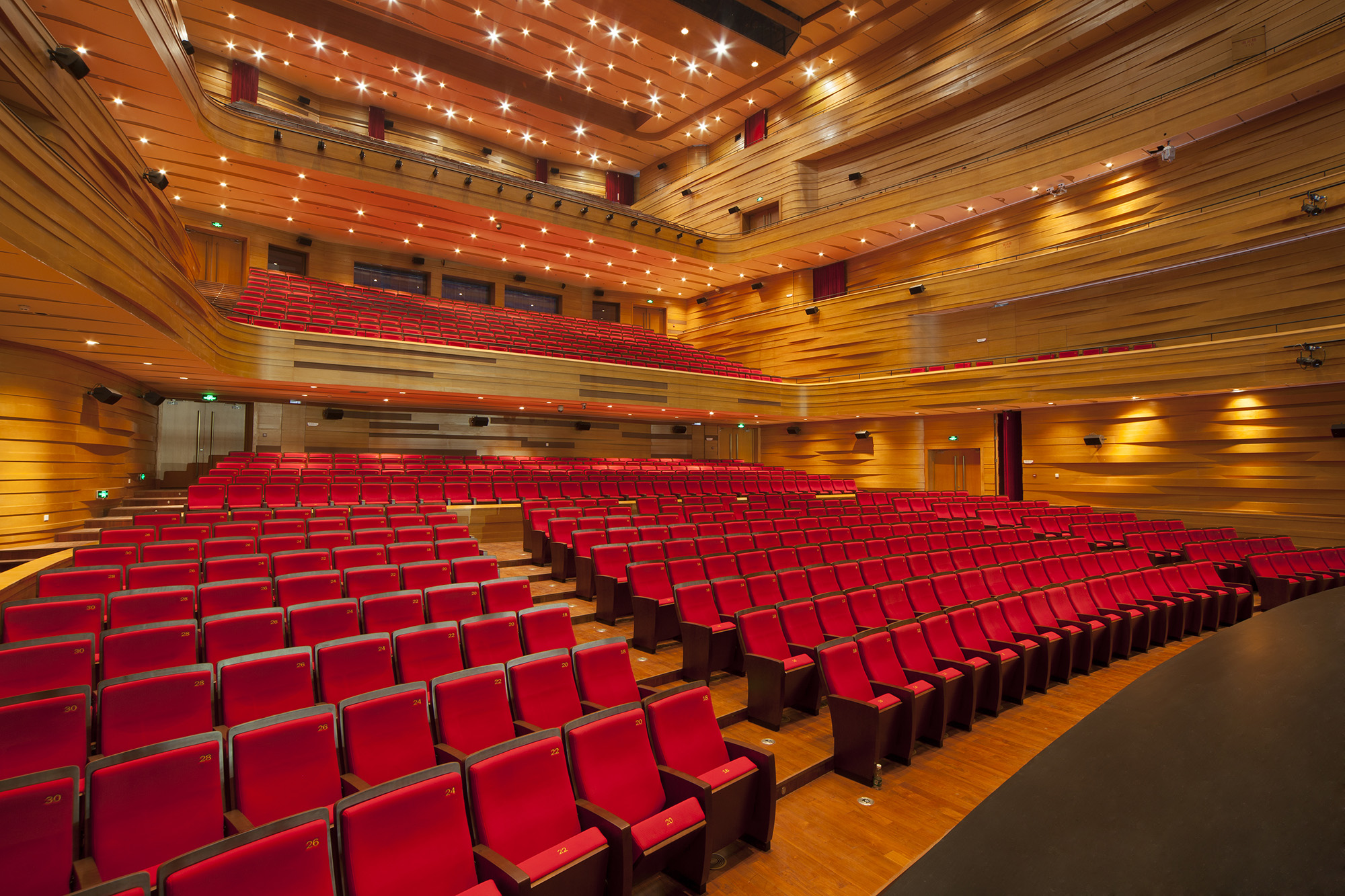 Bartók Concert Hall, Palace of the Arts – Zoboki Demeter Associates – Budapest