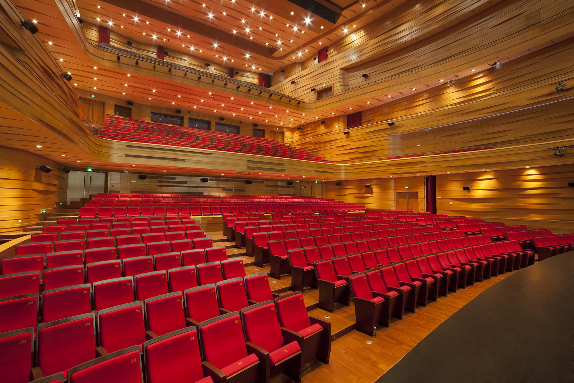 Bartók Concert Hall, Palace of the Arts – Zoboki Demeter Associates – Budapest