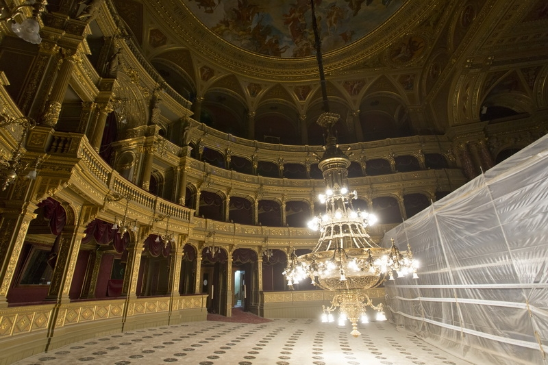 Hungarian State Opera House Renovation – Photo Gallery